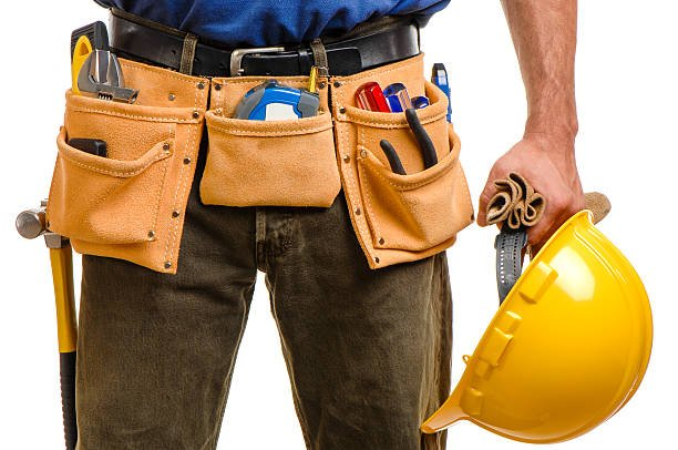 Handyman with tool belt 1